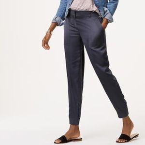 NWT Loft Satin Pants, Size 8